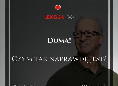 123 Lekcja Miłości: Duma. Czym tak naprawdę jest?
