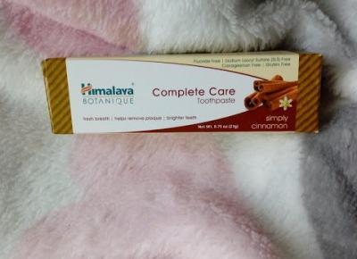 Life by Kadia: Pasta do zębów cynamonowa - Himalaya Botaniqe