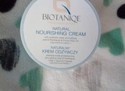 Naturalny krem odżywczy - Biotaniqe