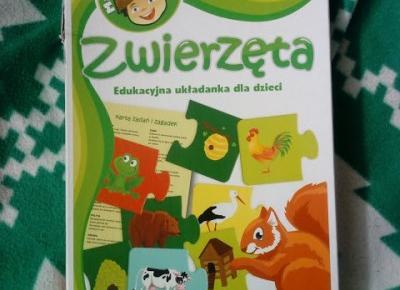 Life by Kadia: Edukacyjna układanka - Zwierzęta