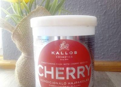 Maska do włosów Cherry  -  Kallos