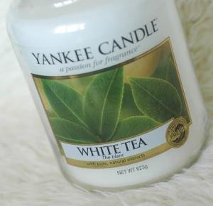 Piekno tkwi w prostocie: Yankee Candle - White tea