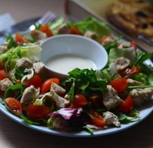 Piekno tkwi w prostocie: Kuchenne rewolucje: zielono mi czyli mieszanka sałat w roli głównej ♥
