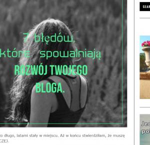 Piekno tkwi w prostocie: Najlepsze teksty blogosfery - kwiecień