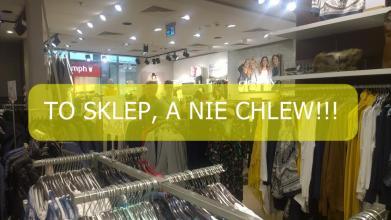 Człowieku wchodzisz do sklepu, a nie do CHLEWU!!!
