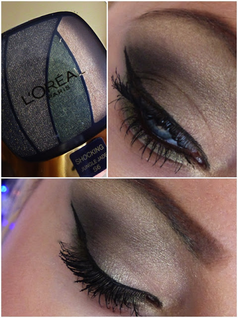 L'oreal Paris Make-Up  - Shocking Jungle Jade  - lisabella-ela