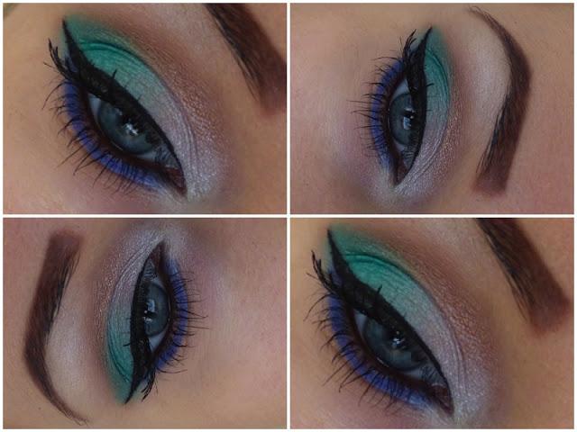 Green, Pearl, Brown and Blue - Make-up from Seventeen  - lisabella-ela