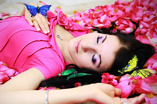 My make-up years ago - Sleeping Beauty ( part II ) - lisabella-ela