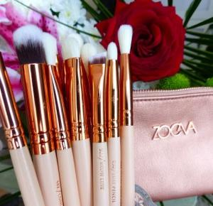 Pędzle Zoeva - Rose Golden Eye Set Vol.2 - Ela Lis Make-Up