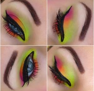 Spring Neon Makeup - Redemption Palette Acid Brights - Makijaż i nie tylko ...