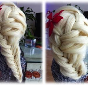 Beauty Hairstyle - Kłos dobierany inaczej - lisabella-ela