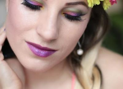 Spring Urban Decay Electric Makeup - Czyżby to Pani Wiosna ! | Ela Lis Make-Up