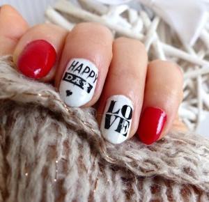 Valentine's Nails - lisabella-ela