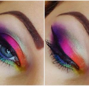 Colourful Spring Makeup - Ela Lis Make-Up