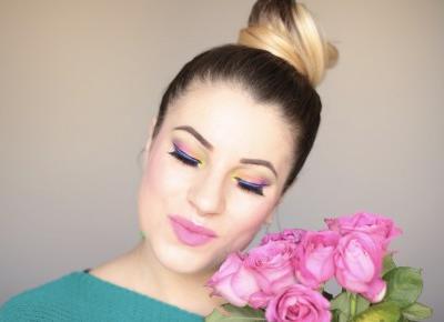 Makijaż Zmalowany Tęczą - Rainbow Makeup | Ela Lis Make-Up