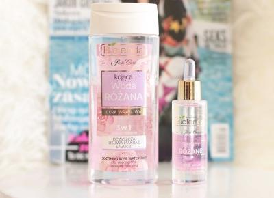 Woda Różana Plus serum Rożane od Bielendy - Recenzja | Ela Lis Make-Up