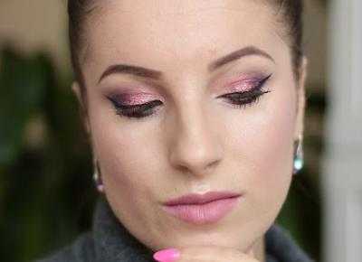 Fiolet z Migoczącą Bordo-Śliwką - Inglot Makeup - Ela Lis Make-Up