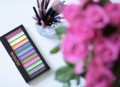 Redemption Palette Acid Brights Review - Makeup Revolution | Ela Lis Make-Up