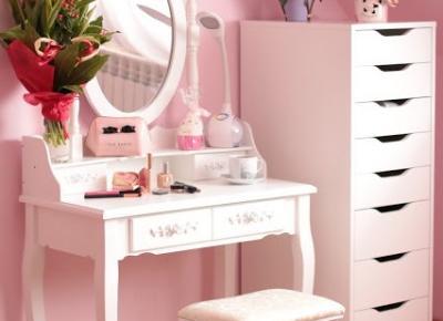 Moja Urocza Toaletka + Biała Komoda !!! | Ela Lis Make-Up