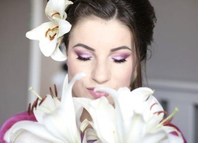 Bridal Makeup - Różowy Ślubniaczek z Błyskiem na oku | Ela Lis Make-Up