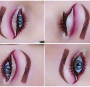 Cut Crease Makeup - Efekt jaskółki - Ela Lis Make-Up