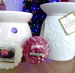 Xmas Tart Wax and Wax Melt Warmer - Świąteczne woski oraz kominki:) - lisabella-ela