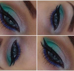 Green, Pearl, Brown and Blue - Make-up from Seventeen  - lisabella-ela