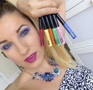 NYX Professional Makeup - Kolekcja Kolorowych Eyelinerów  - Ela Lis Make-Up