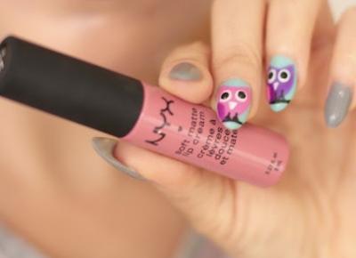 What is on my Lips ... Soft Matte Lip Cream Nyx !!! - Ela Lis Make-Up