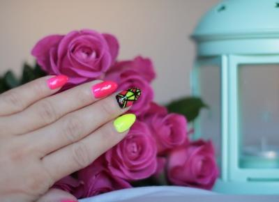 Spring - Summer Nails ! Neonowe Pazurki | Ela Lis Make-Up