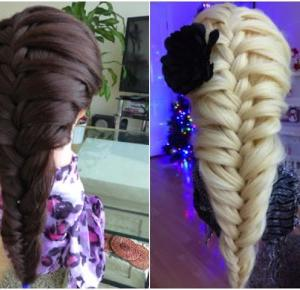Beauty hairstyle - Kłos dobierany - lisabella-ela