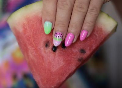 Welcome Summer - Letnie i Soczyste Pazurki | Ela Lis Make-Up