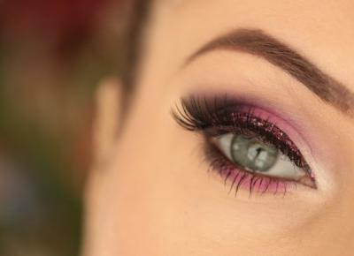 Makijaż Karnawałowy - Trio z brokatem - Ela Lis Make-Up
