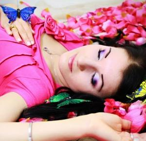 My make-up years ago - Sleeping Beauty ( part II ) - lisabella-ela