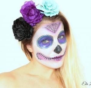 Sugar Skull - Happy Halloween !!! - Ela Lis Make-Up