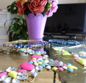 Jewelry Aliexpress !!! Cztery ozdobne Naszyjniki - Ela Lis Make-Up