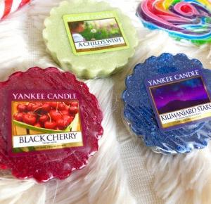 Yankee Candle Tart Wax - Black Cherry, A Child's Wish, Kilimanjaro Stars - lisabella-ela