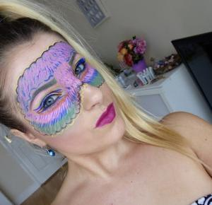 Colorful NYX Mask - Świat zmalowany Eyelinerami - Ela Lis Make-Up