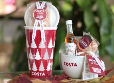 Getting ready for Xmas? Ceramiczne Kubeczki Costa + Ginger biscuit - Ela Lis Make-Up
