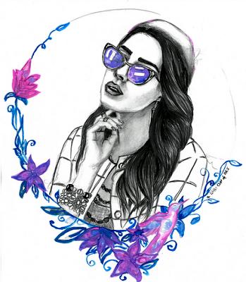 mac girl ~                                            a little CUP OF ART