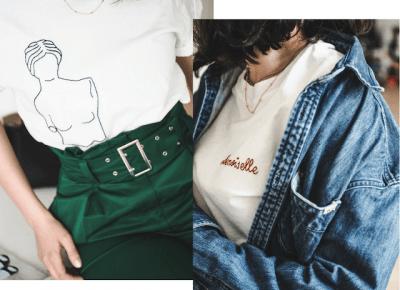 Damskie t-shirty i topy idealne na wiosnę/lato - mini-przegląd!