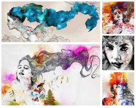 inspiracje artystyczne #6 ~                                            a little CUP OF ART