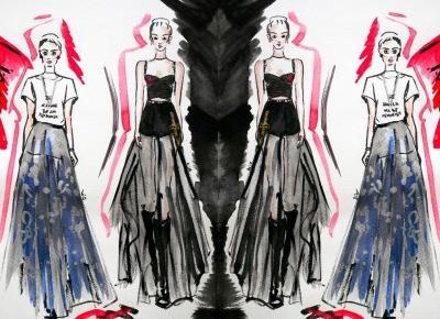 a little CUP OF ART : Trendy 2017: moda na wiosna-lato 2017, raport Pantone i Pinterest + anatomia trendu