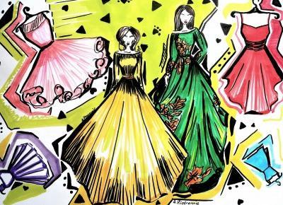 a little CUP OF ART : Przegląd sukienek na wiosnę-lato 2017: marki slow fashion