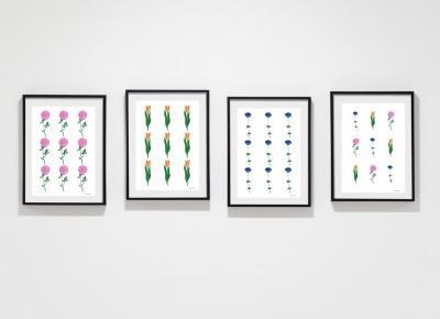Wiosenne plakaty z kwiatami - do druku