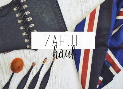 Zaful: haul + giveaway