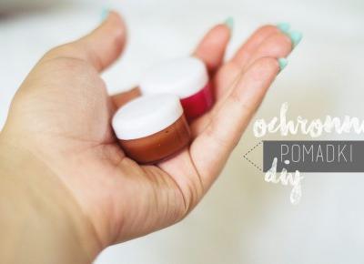 Ochronna pomadka do ust | DIY