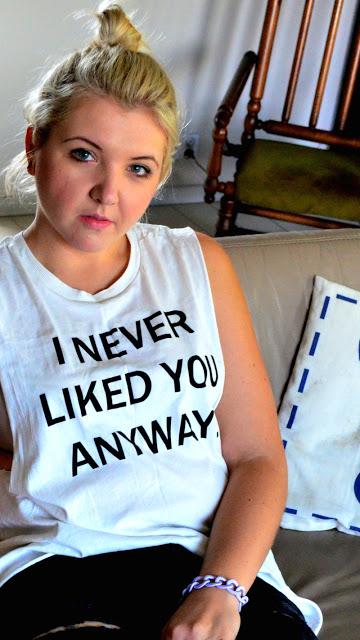 Statement T-shirt ~ Łowczynie okazji wszelakich - blog o modzie, tanie ubieranie