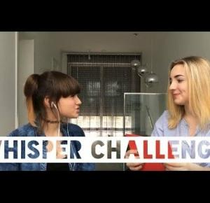 Whisper challenge z Adixon