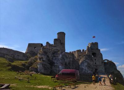 Zamek Ogrodzieniec w Podzamczu | Blog kosmetyczny, beauty, moda, makijaże